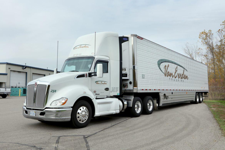 van eerden semi truck driver side front