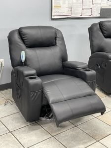 new massage chairs in truck drivers room